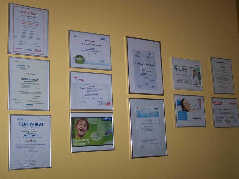 gabinet stomatologiczny dentex zielona góra towarowa 14